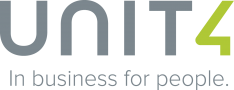 Unit4 Business Software Logo